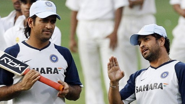 Dhoni inherited a team full of superstars, but held his own when it came to leading the side. AFP/File