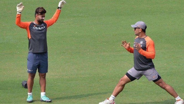 Dhoni's exit means India do not have an option to fall back on, making Rishabh Pant (in picture) and KL Rahul the frontrunners for the 'keeping slot.