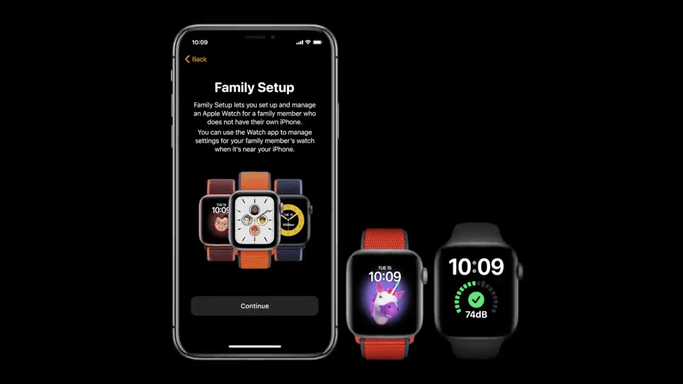 Apple Watch Family Setup feature