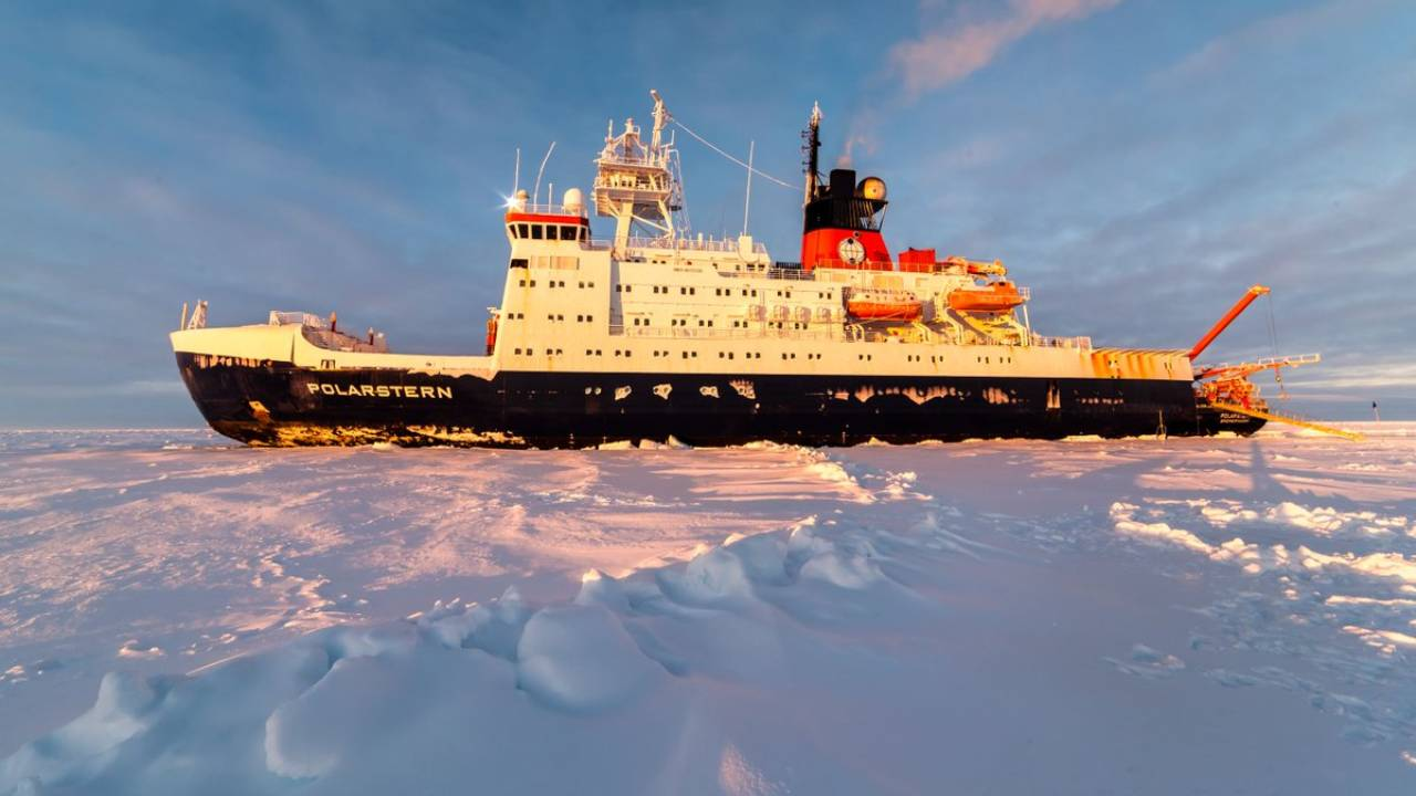 The German Polarstern Research Vessel. Image: Wikimedia Commons