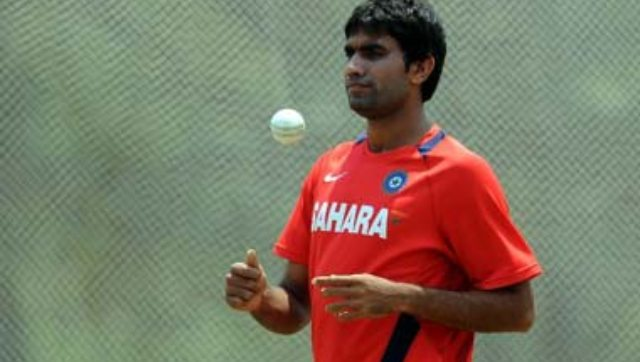 File photo of Munaf Patel. AFP
