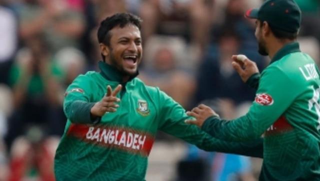File image of Shakib Al Hasan. Image courtesy Twitter / @CricketWorldCup