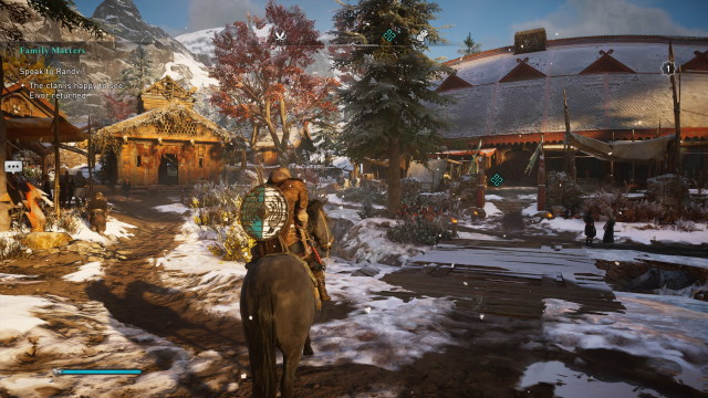 Screengrab from Assassin's Creed Valhalla