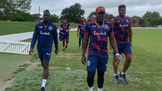 The West Indies contingent have been in quarantine since 30 October. Image: Twitter/@windiescricket
