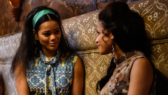 Loreece Harrison and Gugu Mbatha-Raw in Misbehaviour | Images from Twitter