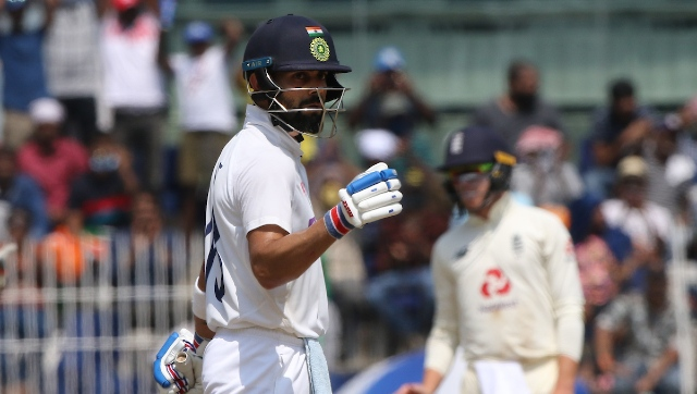 Virat Kohli was dismissed by Moeen Ali in both the innings but scored a resilient 62 in the second essay, which came off 149 deliveries. The skipper shared a 96-run stand for the seventh wicket with Ashwin, setting an improbable 482-run target before the visitors. Sportzpics