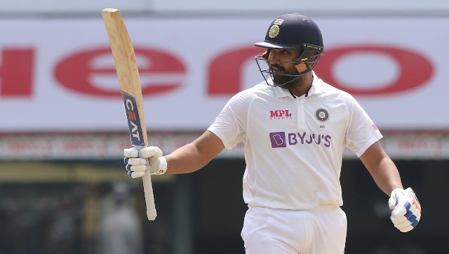 India posted a mammoth first innings total of 329 on the back of Rohit Sharma's 161. The Hitman made batting look easy on a rank turner, striking 18 fours and two maximums during his 231-ball vigil. Sportzpics