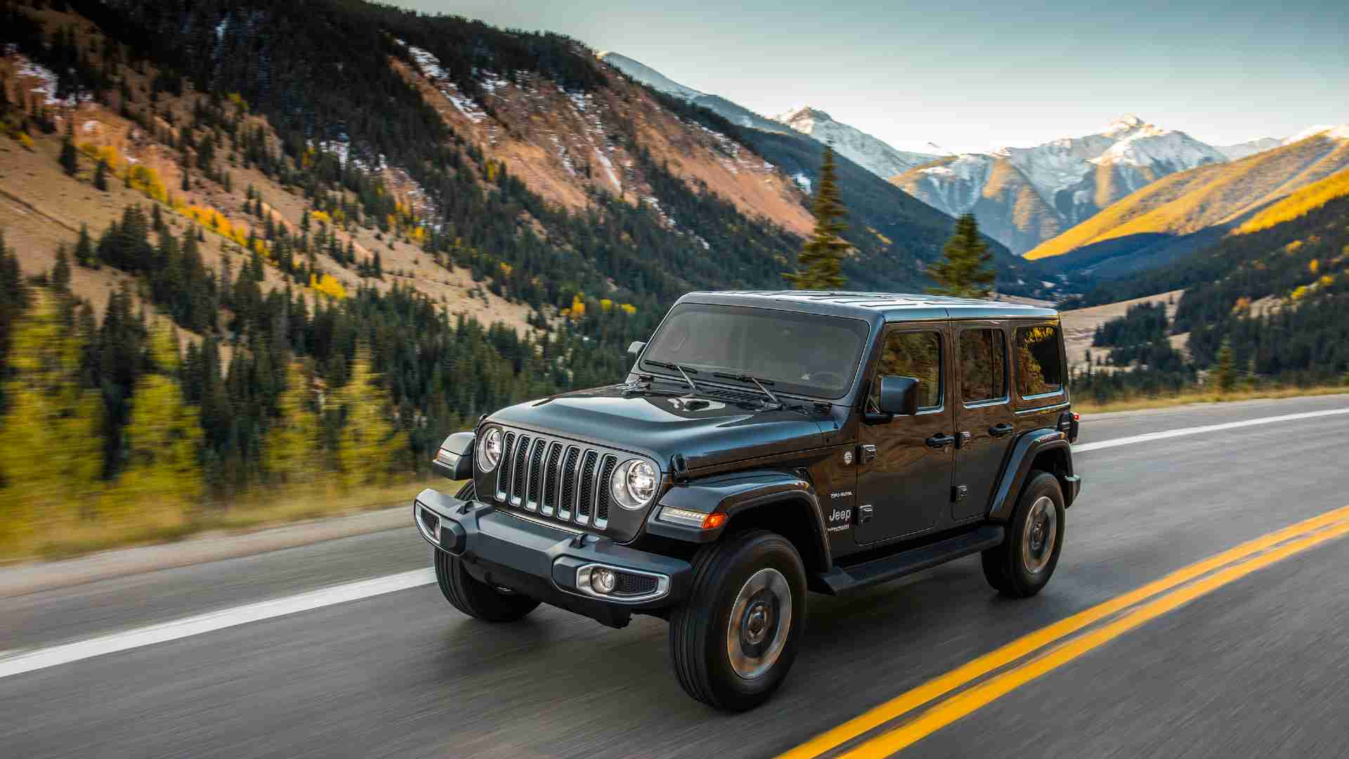 The Jeep Wrangler will continue to be offered in five-door 'Sahara' form. Image: Jeep