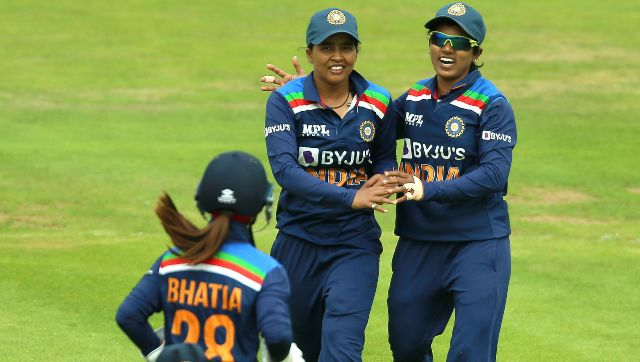 India lost the first ODI by eight wickets. AP