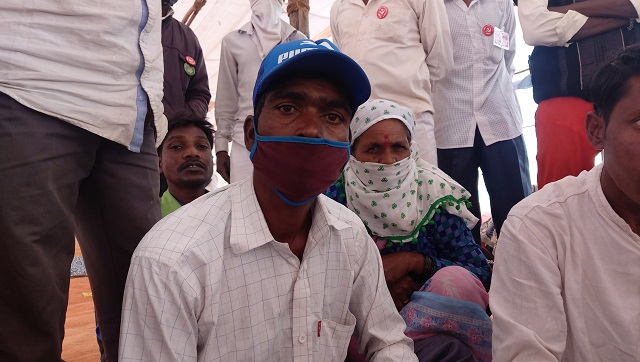Rangnath Raman was beaten up by forest officials for cultivating land despite having ownership documents. Firstpost/Natasha Trivedi